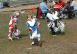 Junior boys grass dance