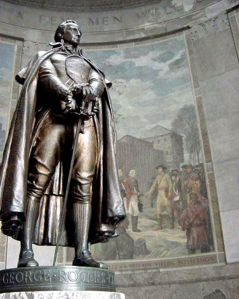 George Rogers Clark Memorial Statue