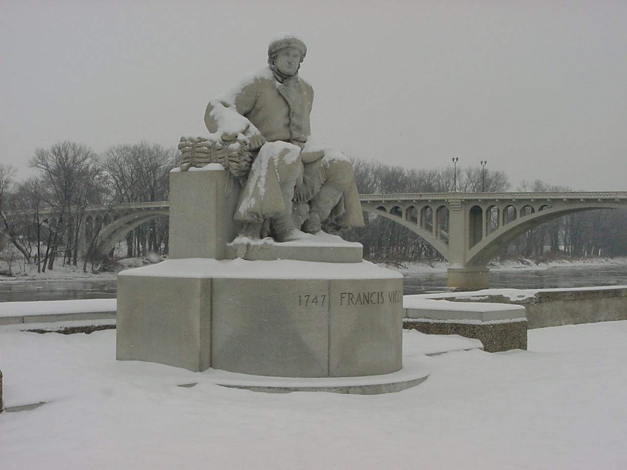 Francis Vigo Memorial Statue