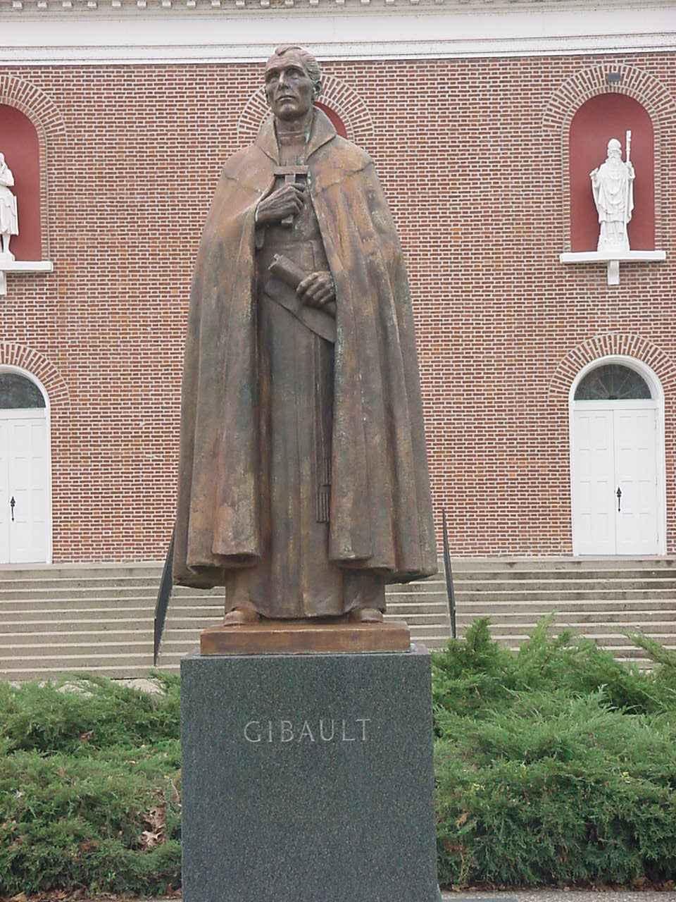 Father Gibault Memorial Statue