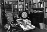 The study was Harry Truman's favorite room in the house. It is where the President spent considerable time reading, writing, and listening to music. The bookshelves were built after 1953 to accommodate Mr. Truman's history and political science books.