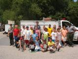 Jr Rangers Visit Fire Station