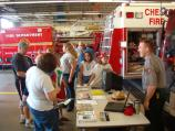 Local Fire Department Fire Prevention Day