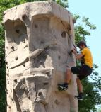 Climbing Wall at Get Outdoors at Gateway Arch