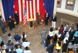 Naturalization ceremony at the Old Courthouse