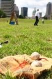 Vintage Baseball at the Gateway Arch