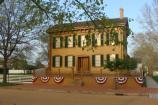 This is the only home ever owned by Abraham Lincoln.