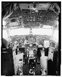 Photo of Looking Glass Airborne Command Post cockpit.