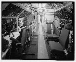 Photo of Looking Glass Airborne Command Post communications compartment.