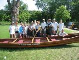 Participants leading the canoe trip on the Mississippi River included NPS Rangers and Wilderness Inquiry staff members. NPS Deputy Director Lindi Harvey also attended.