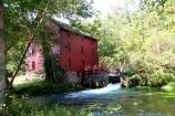 Alley Mill in summer.