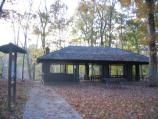 The Peavine Picnic Shelter near Big Spring can be reserved at www.recreation.gov