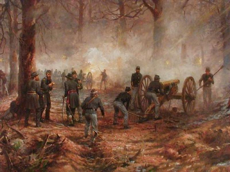 152nd Anniversary Of Pea Ridge Armchair General And