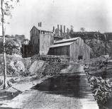Schoolcraft Blast Furnace was located near Munising Falls.