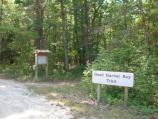 Trailhead at the Good Harbor Bay Trail