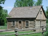 The Maltese Cross Cabin, located adjacent to the South Unit Visitor Center, is open for ranger-guided tours in the summer and self-guided tours the rest of the year.