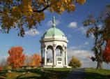 Maryland Monument in the Fall