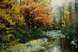 Big Hunting Creek in fall foliage.