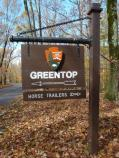 Camp Greentop sign