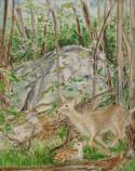 Oil/Acrylic Painting by Janet Nave, 2010 Catoctin Mountain Artist-in-Residence,