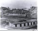 Construction on the canal