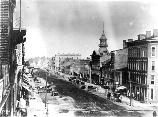 During the Civil War Washington would be transformed from a samll town to a bustling city. Here you can see the dirt streets.