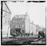 The Marshall House was the site of some of the first deaths of the Civl War. Hotel Owner James Jackson and Col. Elmer Ellsworth would both die here as the Unoin Army moved in to occupy the city of Alexandria in 1861.