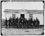 the 107 USCT at Fort Corcoran.