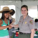 Junior Ranger Tent activities