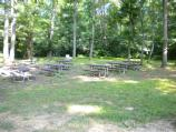 Area D1 picnic tables