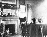 Historic photograph of Cedar Hill's dining room taken about 1895. FRDO 4940
