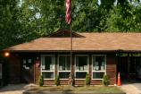 a picture of the Greenbelt Park ranger station