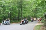 Rolling Thunder riding out of the B loop in the Greenbelt Park campground