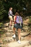 Hikers enjoy the many trails in the park.