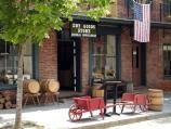 The Dry Goods Store presents a compilation of businesses from the 1850s.
