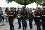 The U.S. Marine Band from Quantico participated in the John Brown Commemoration.