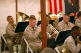 The Quantico Marine Band performs during the John Brown Commemoration at Harpers Ferry NHP