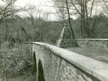 The rebuilt Stone Bridge, circa 1940.