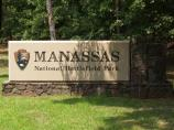 Entrance Sign to Manassas National Battlefield