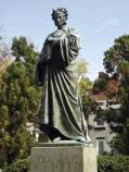 The Dante Statue was the first to be placed in Meridian Hill Park.