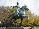 The Joan of Arc statue is the only statue in Washington D.C. that depicts a woman on horseback.