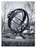 The Armillary Sphere was once located at the foot of Meridian Hill Park's cascades.