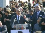 Martin Luther King, III addresses the crowd.