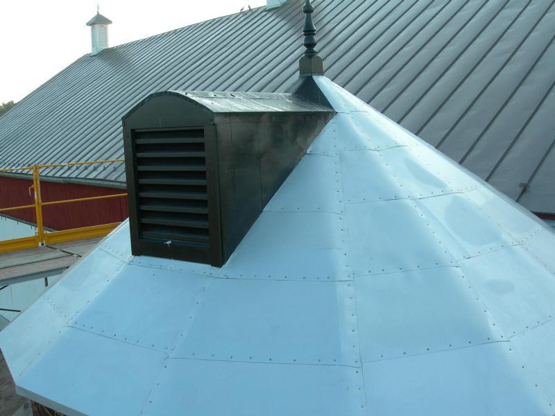 14) Silo Roof After Restoration