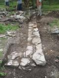1) Blacksmith Shop Foundation Exposed