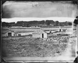 This photo was taken during the Civil War looking east, towards present day Shepherd Parkway