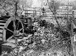 Peirce Mill breast water wheel