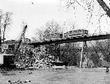 Old Washington DC Trolly bridge over Rock Creek