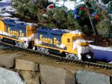 For the 13th consecutive year, the National Capital Trackers, a local model train club, will provide model trains that surround the base of the National Christmas Tree. The trains will run from 11:00 a.m. to 11:00 p.m. daily through January 1st.