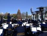 U.S. Air Force Band, directed by Colonel Dennis M. Layendecker, played for the Lighting of the National Christmas Tree Ceremony